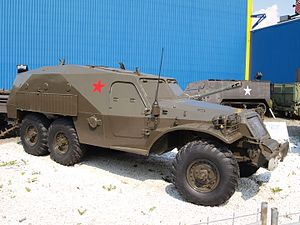 BTR-152 armoured transporterr at Sinsheim.JPG
