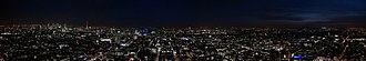 BT Tower - Image: BT Tower Evening Panorama 2014 03 05 18.30