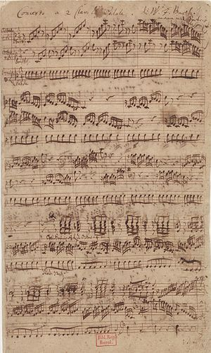 Organ concerto (Bach) - Wikipedia
