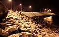 Back of the Eisenhower Pier, Bangor - geograph.org.uk - 1660685.jpg