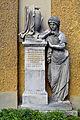 Baden - Filialkirche hl Helena - Grabdenkmal für Theresia Doppelhoff.jpg