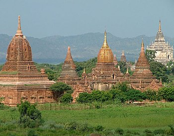 English: Bagan, Myanmar. Bagan became a centra...