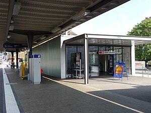Affoltern am Albis railway station - Image: Bahnhof Affoltern am Albis 7