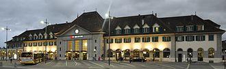 Thun railway station - Image: Bahnhof Thun 2