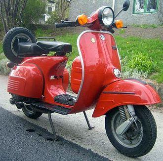 Bajaj Auto -  Bajaj scooter built under license from Vespa
