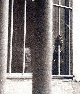 Ricardo Balbín - Balbín in prison (1950).