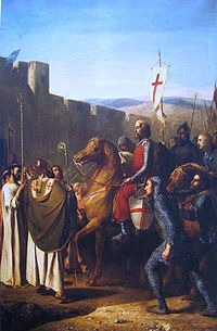 Baldwin of Boulogne entering Edessa in Feb 1098.JPG