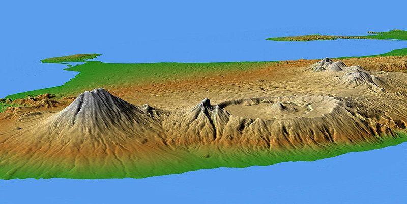 Berkas:Bali Mts Agung and Batur.jpg