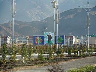 Balkanabat Place in Turkmenistan