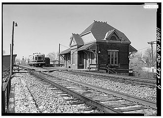 Laurel, Maryland - Laurel Railroad Station