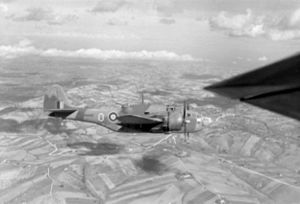 Baltimore 454 Sqn RAAF over Italy 1944.jpg