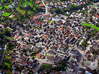 Sauerland - Town centre of Balve in 2007