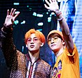 BamBam and Jackson Wang at a fansigning event in Yeouido, 22 June 2019 02.jpg