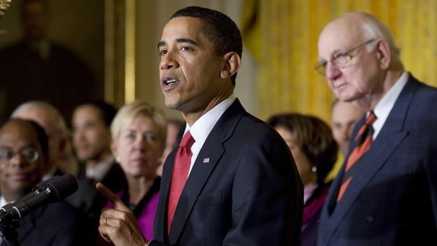 Barack Obama announces Economic Recovery Advisory Board 2-6-09