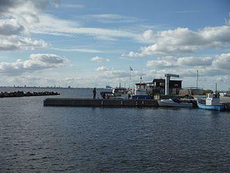 Saltholm - Barakkebroen harbor