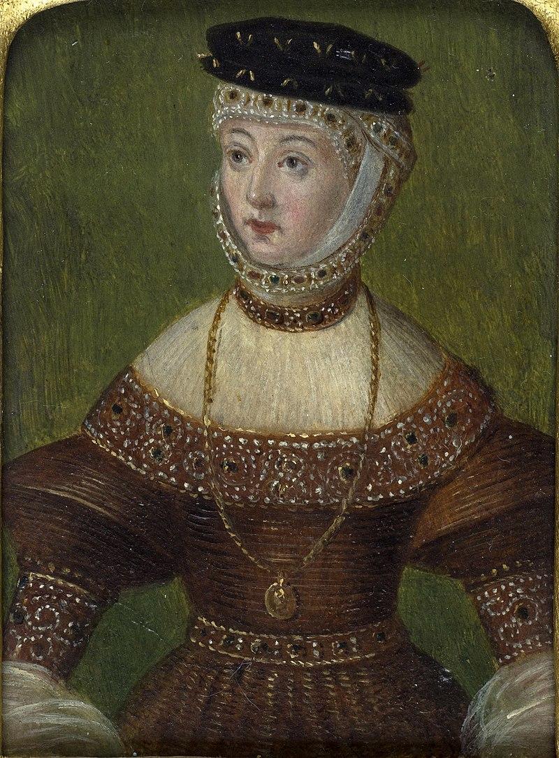 Barbara Radzivił. Барбара Радзівіл (M. Krajewski, 1543-51, 1866-70).jpg