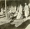 Barber at Peshawar British India 1907.jpg