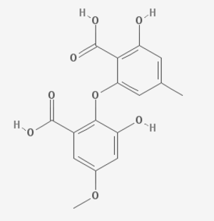 Barceloneic acid B - Image: Barceloneic acid B