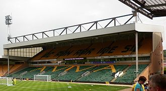 Carrow Road - Looking towards The Barclay from The Jarrold Stand in 2011.