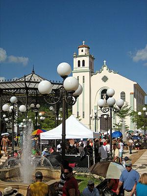 Barranquitas, Puerto Rico - National Artisans Fair in the town's plaza, 2008