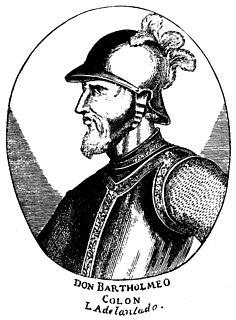 Bartholomew Columbus Italian explorer