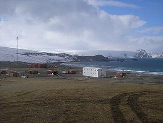 Uruguayan Antarctic Institute - Artigas Base, run by the Uruguayan Antarctic Institute at King George Island