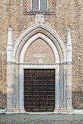 Basilica di Santa Maria dei Frari - Venice - The middle door.jpg
