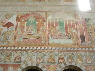 San Piero a Grado - Nave Frescoes