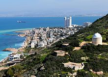 Bat Galim neighborhood and Haifa Bay.jpg