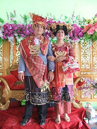Batak - Image: Batak Karo Wedding