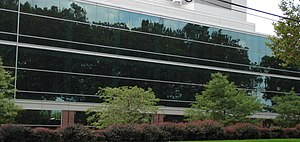 Battelle Memorial Institute - View of Columbus facilities from King Ave.
