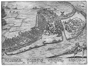 Battle of Jemmingen by Frans Hogenberg