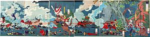 関ヶ原合戦図屏風 (Battle of Sekigahara folding screen)