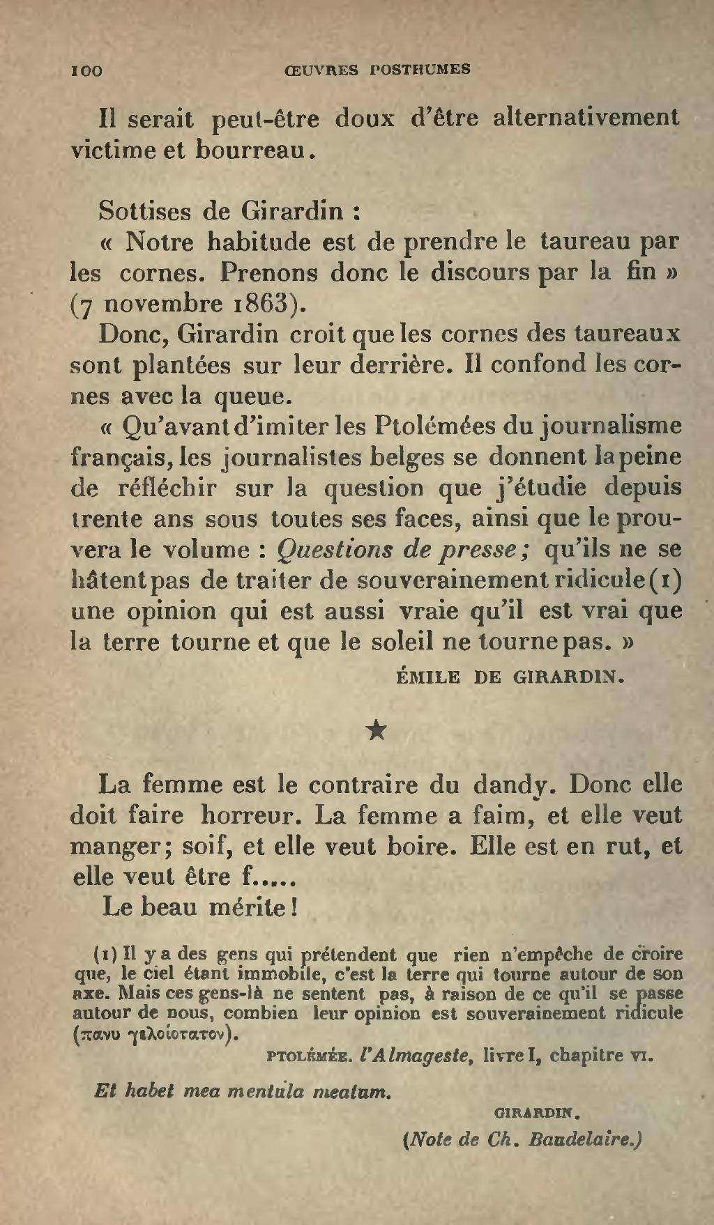 Page Baudelaire œuvres Posthumes 1908 Djvu 104 Wikisource