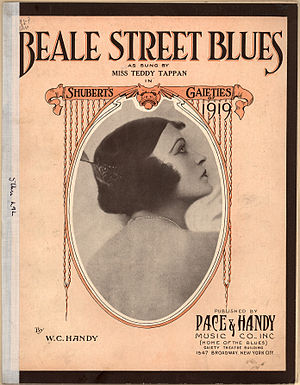 Beale Street Blues - Image: Beale Street Blues 1919Teddy Tappan