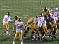 Bears kick FG at USC at Cal 2009-10-03.JPG