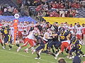 Bears on offense at 2009 Poinsettia Bowl 20.JPG