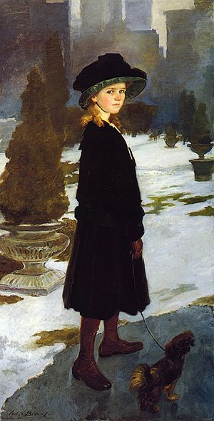 Artemus Gates - Alice Trubee Davison, 1909-10, by Cecilia Beaux