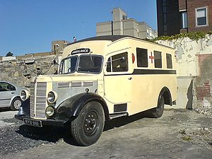 Bedford Vehicles - Bedford ambulance