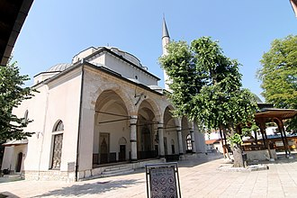 Bosnia and Herzegovina - Gazi Husrev-beg Mosque in Sarajevo dating from 1531