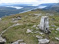 Beinn Reithe trig point S8768 - geograph.org.uk - 446629.jpg