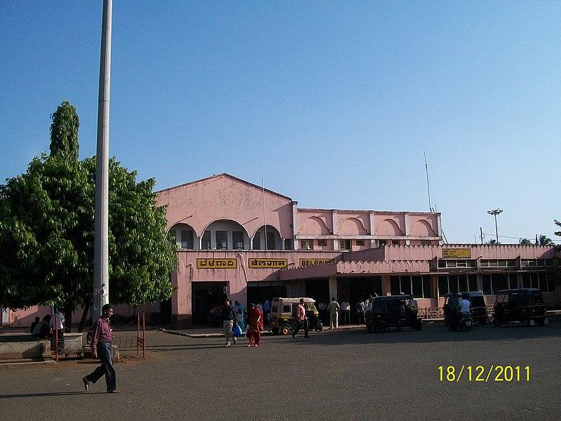 File:Belgaum Railway Station - panoramio.jpg