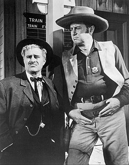 Ben Gage en Kent Marshall in Maverick (1958)