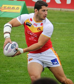 Benjamin Garcia France international rugby league footballer
