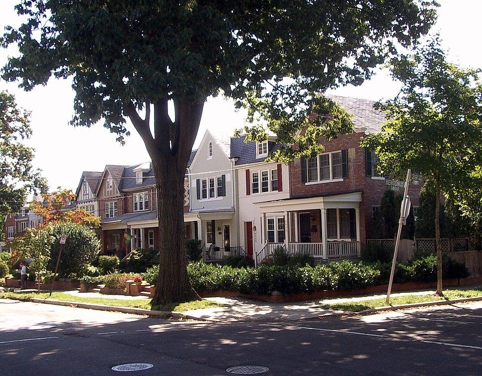 Benton Street in Glover Park