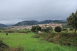 Panorama of Berchidda