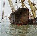 Berging kruiplijn Coaster Susanne in de Westerschelde door de firma Smit tak ID52528.jpg
