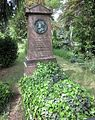 Berlin, Kreuzberg, Mehringdamm 21, Friedhof III Jerusalems- und Neue Kirche, Grab Carl Ferdinand Langhans.jpg