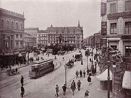 Alexanderplatz 1903 [Public domain], via Wikimedia Commons