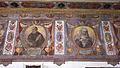 Bernardino Poccetti e aiuti, affreschi della sagrestia di san bartolomeo di ripoli, 1585, fregio 03 beati torello e umiliana.JPG